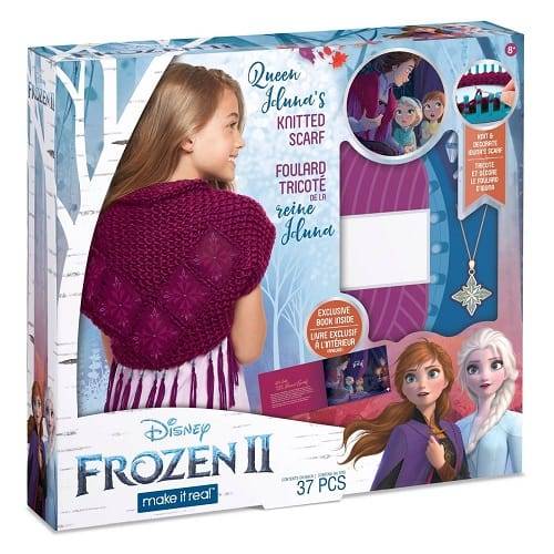 Disney Frozen 2 Queen Iduna's Knitted Shawl