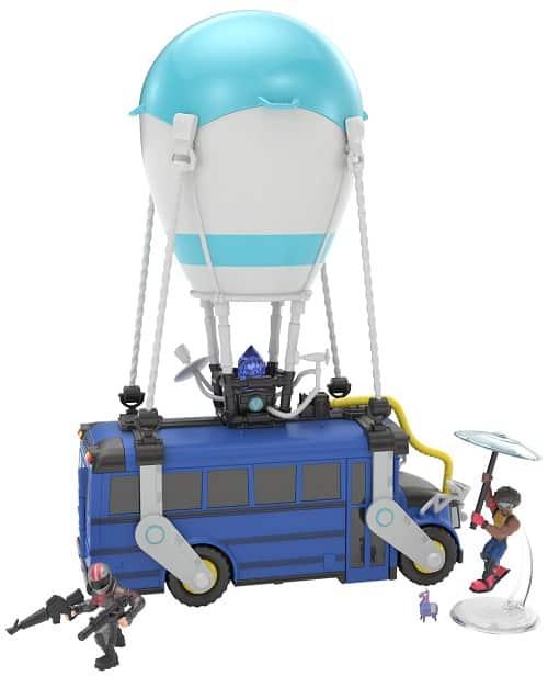 Gifts for Fortnite Lovers - Fortnite Battle Royale Collection 13 inch Battle Bus + 2 Exclusive Figs