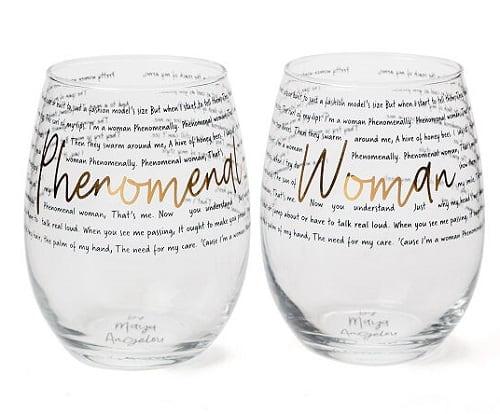Phenomenal Woman Glasses - Set of 2