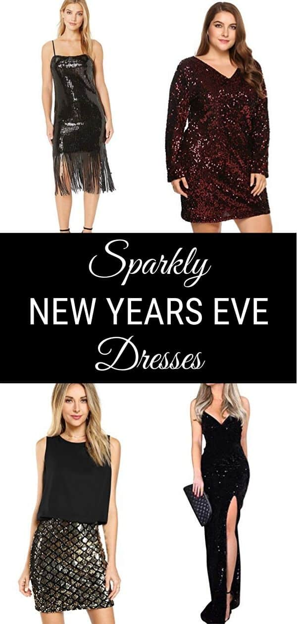 Sparkly New Years Eve Dresses