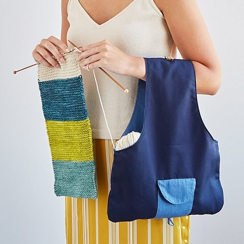 Travel Knitting Bag - Gifts for knitters