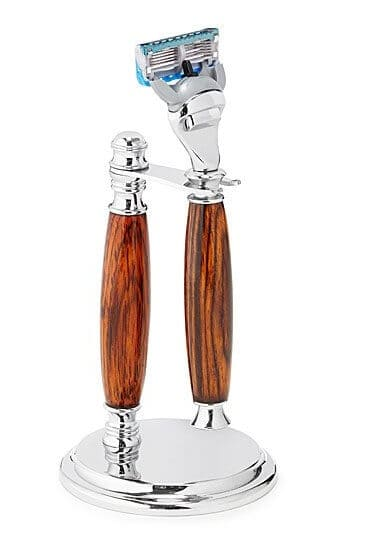 Handmade Rosewood Shaving Set 5 Blade