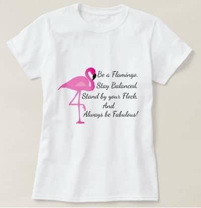 Be A Flamingo Tee