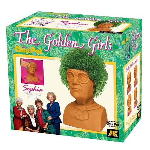 Chia Pet Sophia from The Golden Girls Planter
