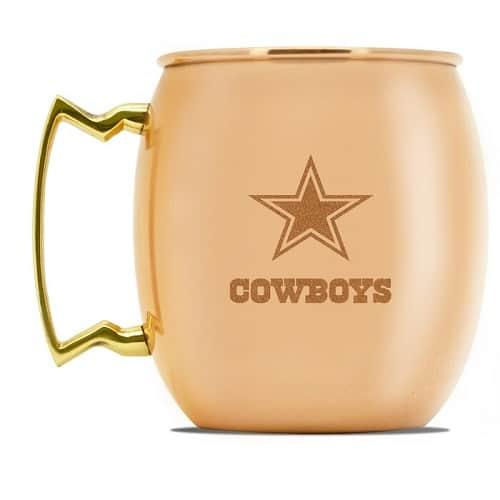 Dallas Cowboys Copper Moscow Mule Mug