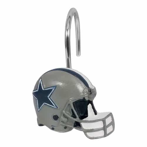 Dallas Cowboys Shower Hooks