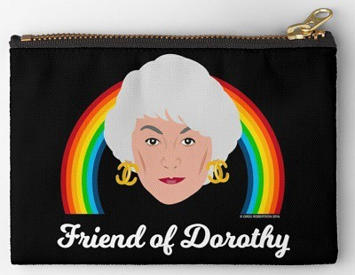 Friend of Dorothy Zipper Pouch