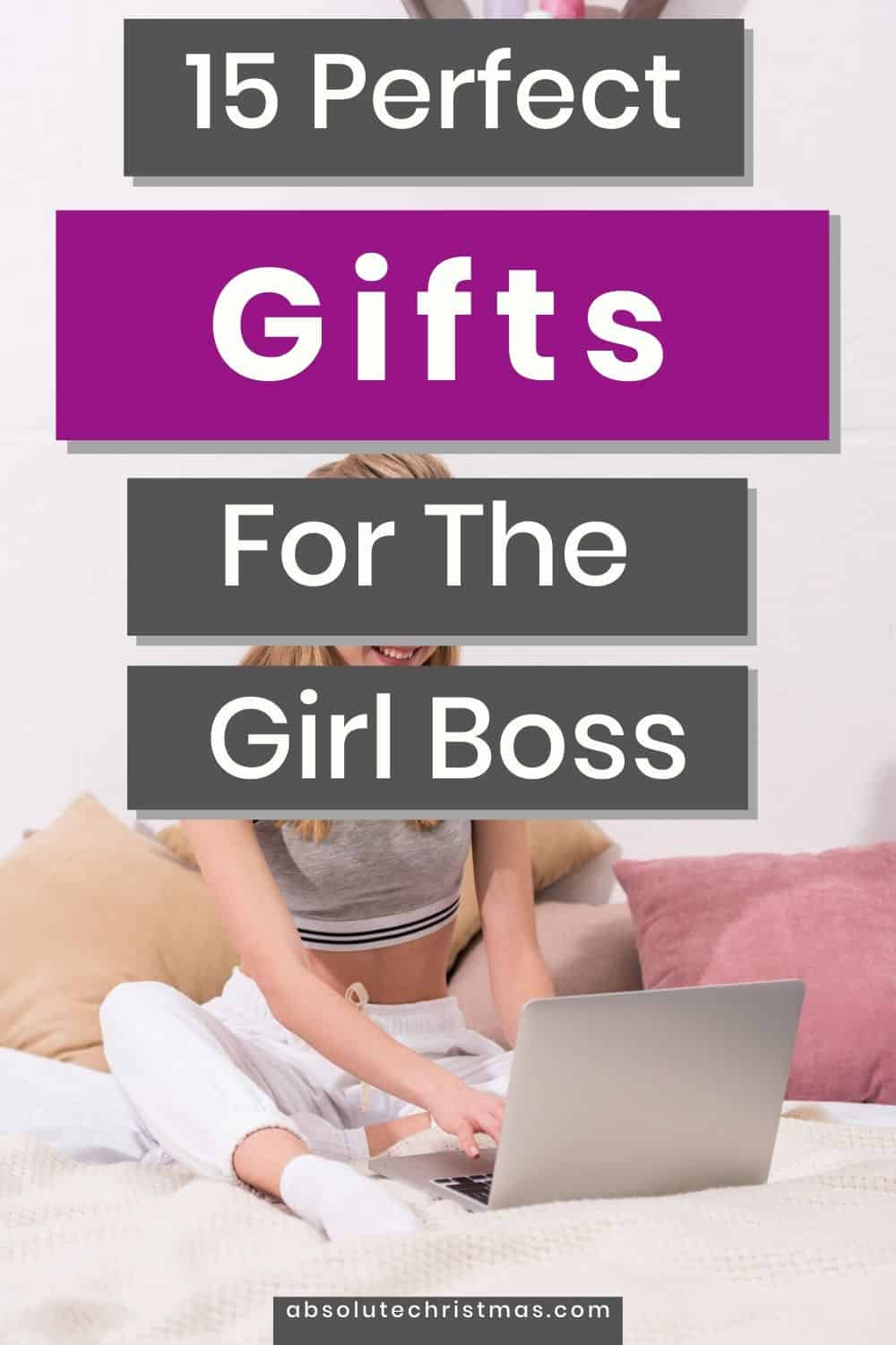 Gifts For The Girl Boss - Boss Lady Gift Guide