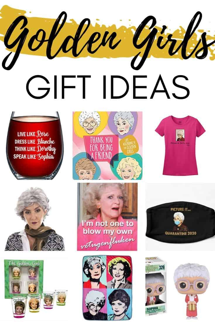 Golden Girls Gift Ideas - Funny gifts for fans of The Golden Girls TV show