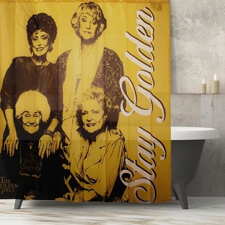 Golden Girls Stay Golden Shower Curtain