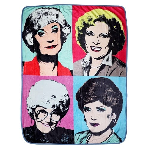 Golden Girls Warhol Fleece Blanket Comforter