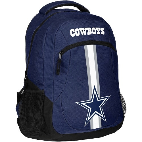 NFL Dallas Cowboys Action Stripe Logo Backpack