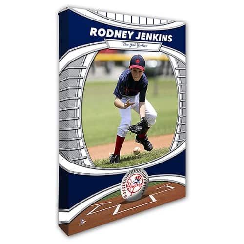 New York Yankees Personalized MLB Photo Canvas Print