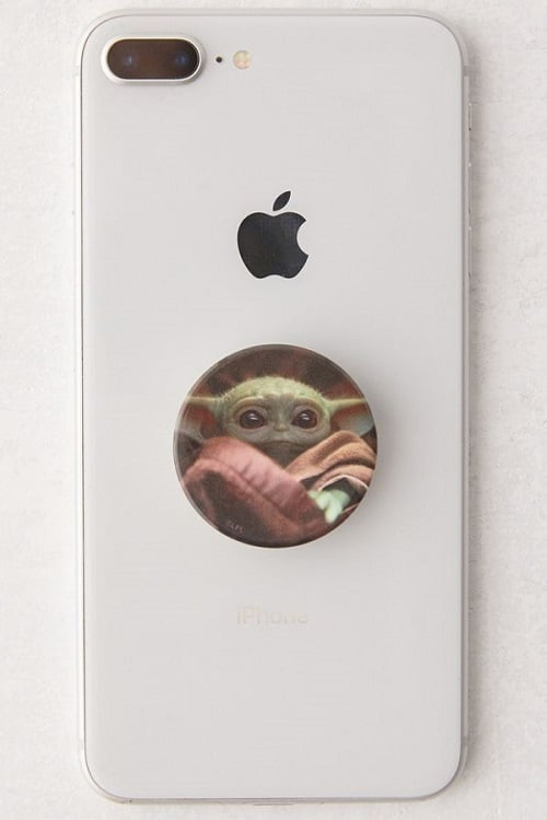 PopSockets Baby Yoda Swappable Phone Stand