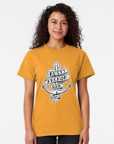 Rusty Anchor Tee - Golden Girls Gift Ideas