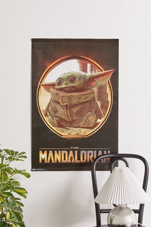 Star Wars Baby Yoda Poster