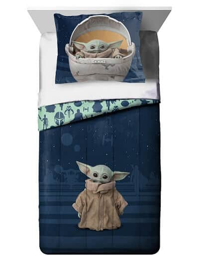 Star Wars - The Mandalorian Baby Yoda Bedding Set