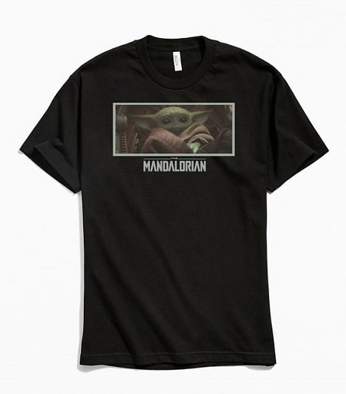 Star Wars The Mandalorian Baby Yoda Photo Tee