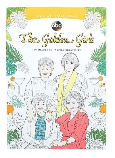 The Golden Girls Art of Coloring Book