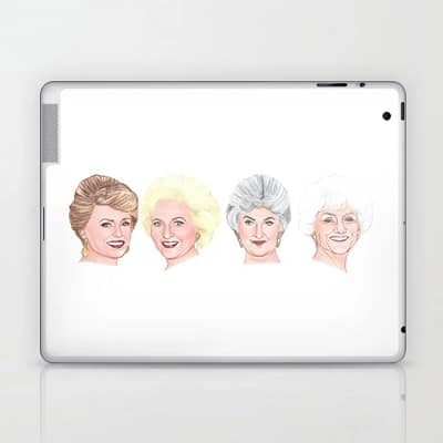 The Golden Girls Laptop & iPad Skin