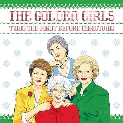 The Golden Girls Twas the Night Before Christmas Book