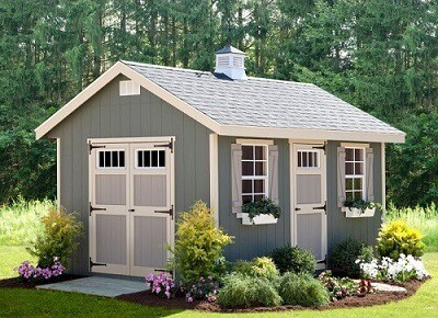 Wooden She Shed - Gardening Gift Ideas for Moms