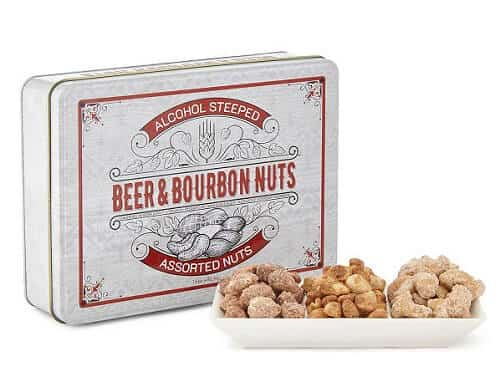 Beer and Bourbon Nuts - Gifts for Beer Lovers