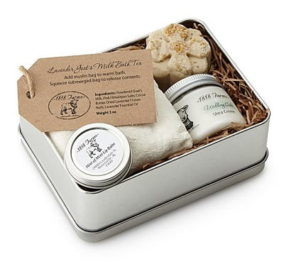 Farm Fresh Spa Experience Tin - Beauty Gifts for Mom Under $50