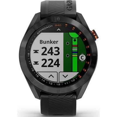 Garmin Approach S40 GPS Golf Smartwatch Black