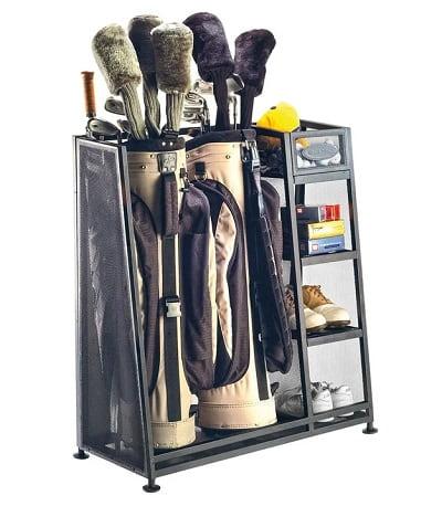 Golf Bag Organizer Rack - Golf Gifts for Men