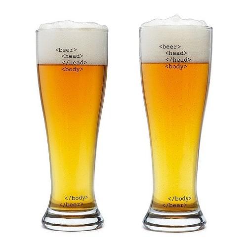 HTML Beer Glasses
