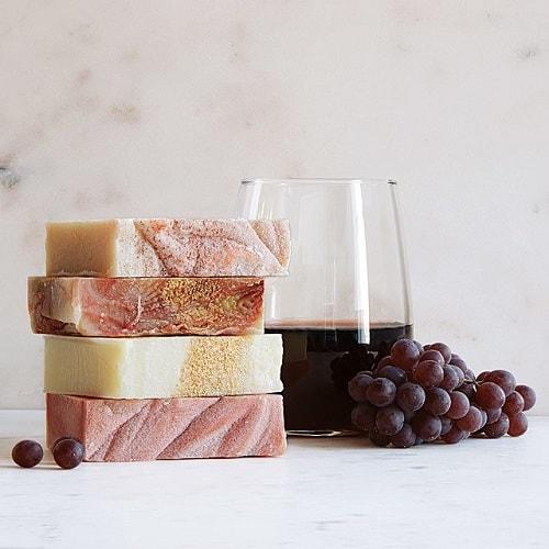 Handmade Wine Soaps