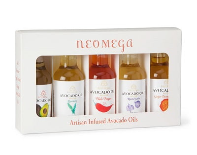 Herb-Infused Avocado Oil Gift Set - Keto Gifts