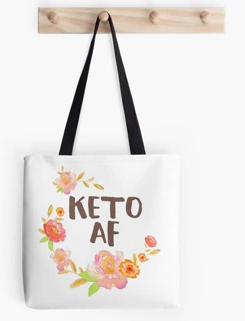 Keto AF Tote Bag
