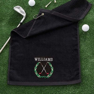 Performance Golf Crest Personalized Golf Towel