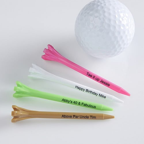Personalized Golf Tees - Pink
