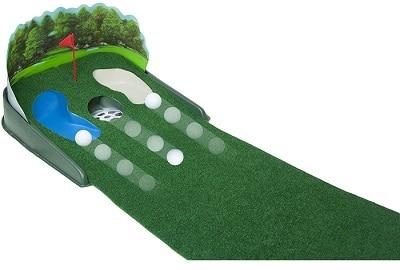 Putt N' Hazard Golf Putting Mat 9'