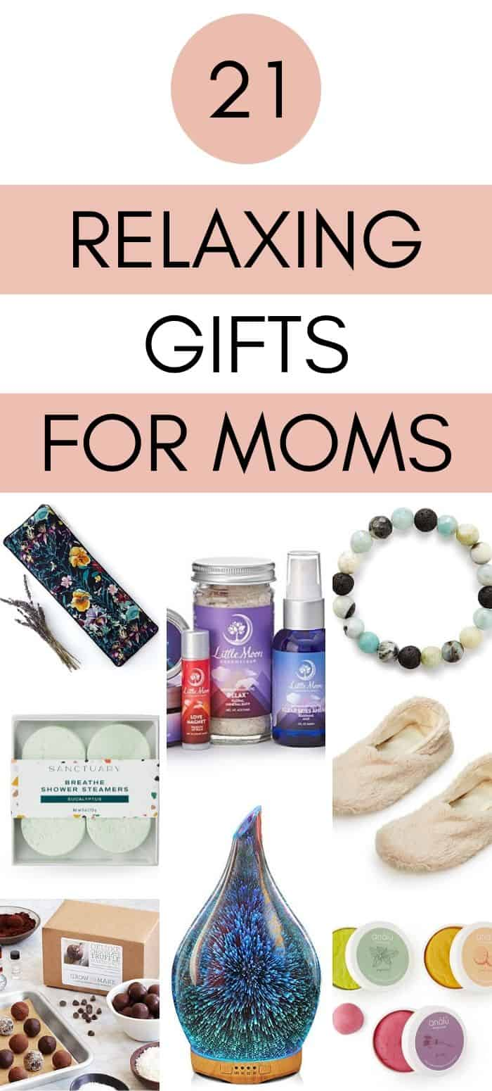 Relaxing Gifts for Moms