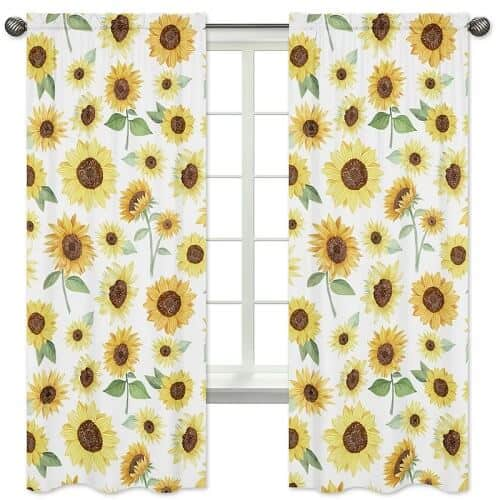 Sunflower Curtain Panels