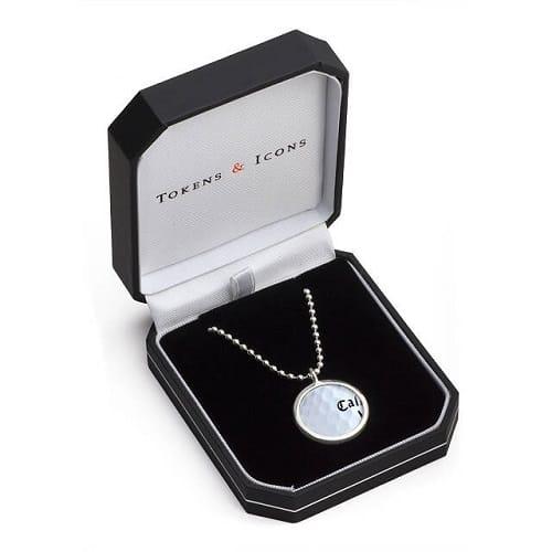 TPC Sawgrass Golf Ball Necklace - Novelty Golfing Gifts for Women