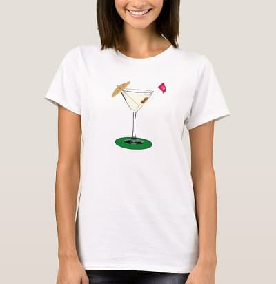 The 19th Hole - Cocktail T-Shirt