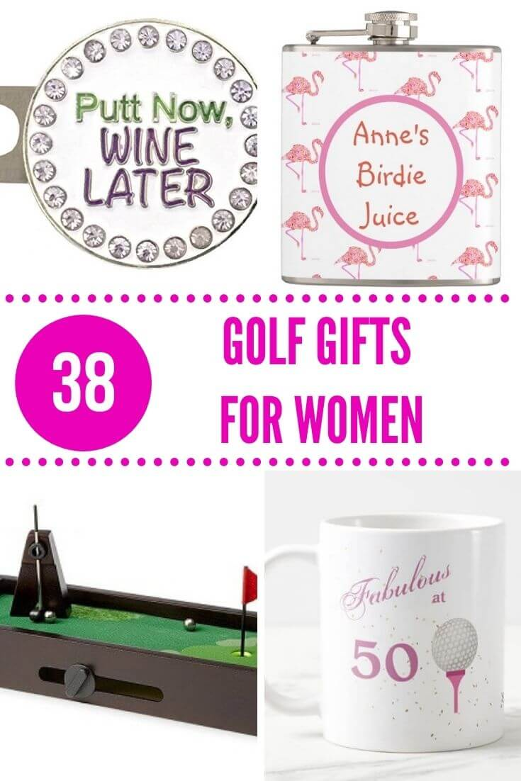 Unique Golf Gifts for Women - Presents for Lady Golfers