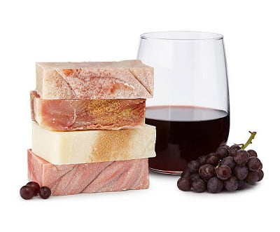 Wine Soaps - Set of 4 - Beauty Gifts for Mom Under $50