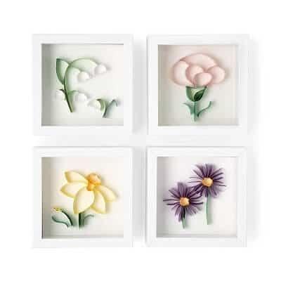 Birth Month Flower 3D Art
