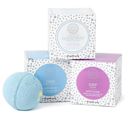 CBD Relief and Relax Bath Bombs
