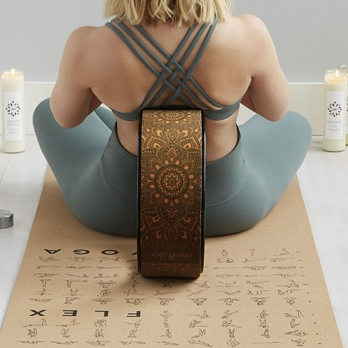 Cool Yoga Gifts for Mom - Cork Yoga Wheel