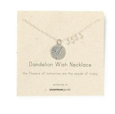 Mother's Wish Dandelion Necklace