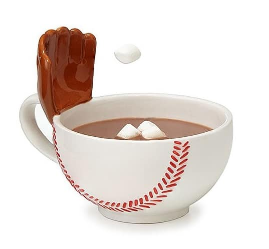 Playful Sports Mug - Baseball Glove