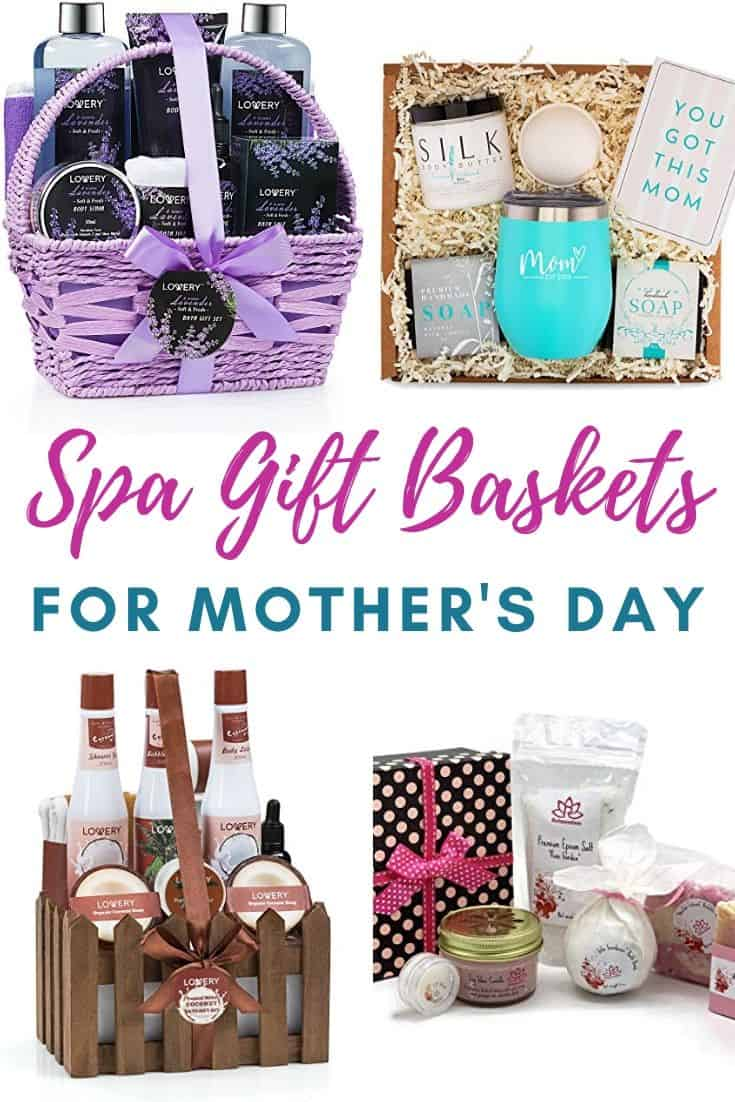 Spa Gift Baskets for Mother's Day