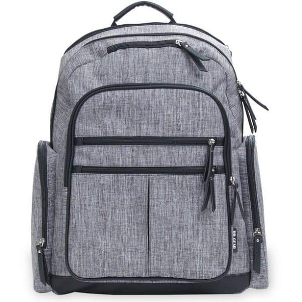 Baby Boom Cross Hatch Backpack Diaper Bag